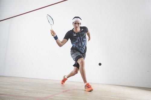 Squash: Diego Elías tendrá partido este sábado