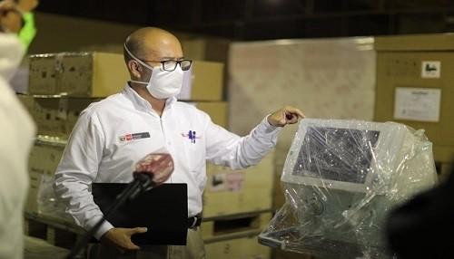 Minsa traslada más ventiladores mecánicos a Lambayeque y otras regiones