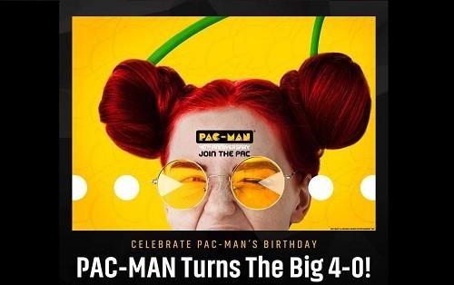 Pac-Man, la super estrella original de los videojuegos, celebra su 40º cumpleaños