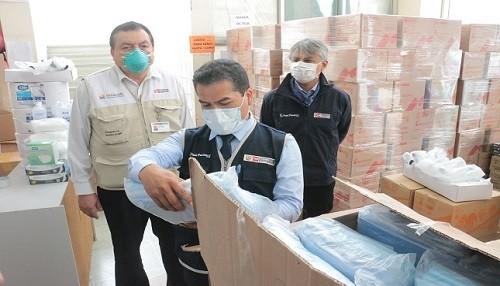Minsa realizó visita inopinada al Hospital Cayetano para constatar disponibilidad de equipos de protección, camas y oxígeno