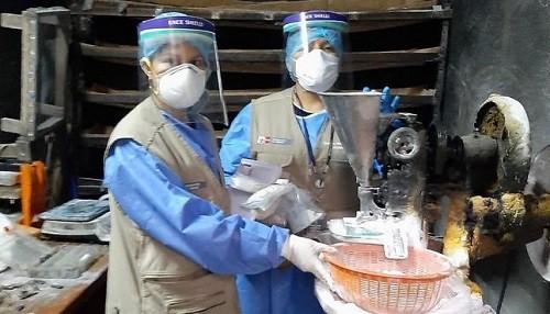 Intervienen laboratorio clandestino de medicamentos en La Victoria