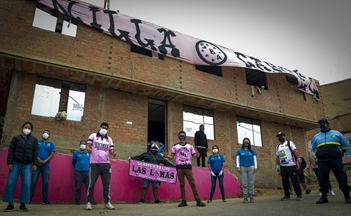 Municipalidad de Lima y Club Sport Boys llevaron donaciones a 250 familias de Ventanilla