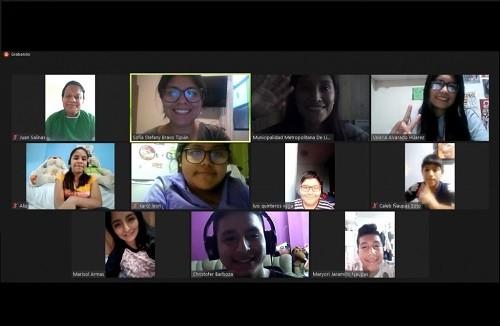 Municipalidad de Lima continúa impulsando el programa virtual de brigadistas escolares ambientales