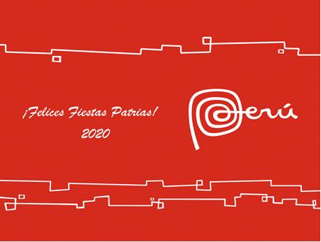 El ceremonial de las Fiestas Patrias en el Perú