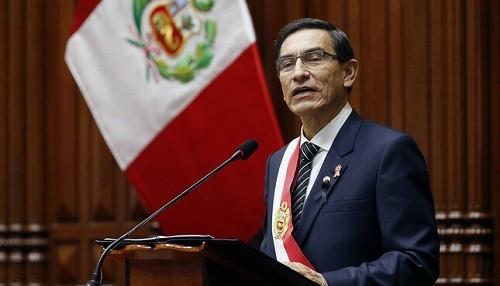 Presidente Vizcarra anuncia la mayor inversión en salud de la historia, construcción de Líneas 3 y 4 del Metro y pensión de orfandad