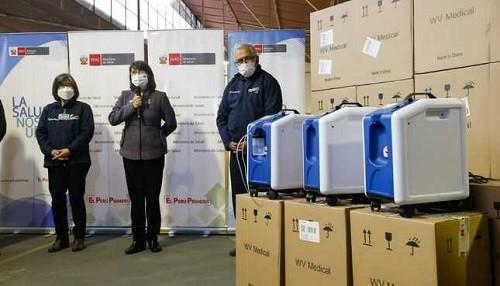 Más de 1200 concentradores de oxígeno serán distribuidos en comunidades indígenas para la atención de pacientes Covid-19