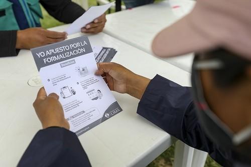 Campaña Formalízate Lima beneficiará a más de 1,200 comerciantes reubicados en espacios temporales