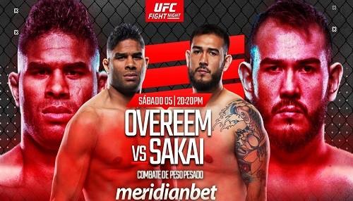¡Disfruta la noche de peleas en la UFC!