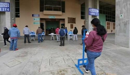Realizan tamizaje e investigación epidemiológica de la COVID-19 en Cajamarca