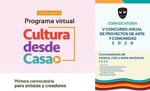 Municipalidad de Lima lanza cinco nuevas convocatorias de proyectos artísticos y culturales