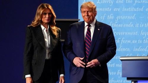 Donald y Melanie Trump en cuarentena tras dar positivo en test Covid-19
