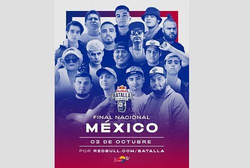 No te pierdas las batallas de freestyle en la Final Nacional de México de Red Bull Batalla de los Gallos