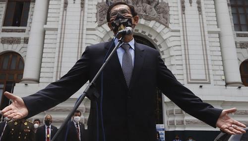 Congreso de la República destituye al presidente Martín Vizcarra