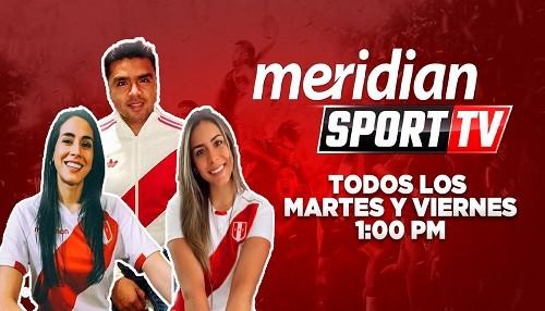 Meridian Sport TV te trae el mejor análisis de las Eliminatorias
