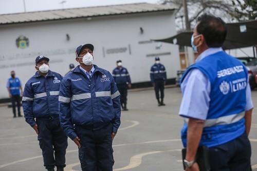 Municipalidad de Lima refuerza seguridad ciudadana con nuevo contingente de serenos