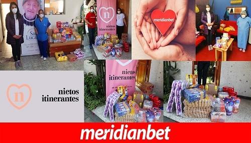 Meridianbet llevó ayuda junto a la ONG Nietos Itinerantes
