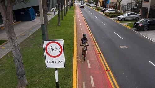 Municipalidad de Lima realizó mantenimiento de 25 kilómetros de ciclovías en 8 distritos de la capital