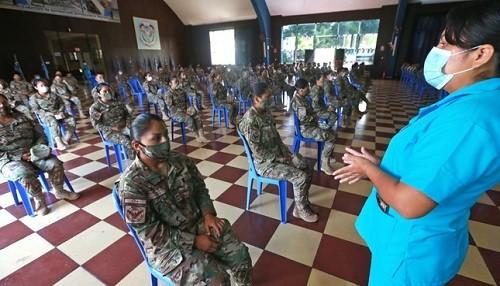 Personal de la Fuerza Aérea se capacita para apoyar en campañas de vacunación contra el Covid-19