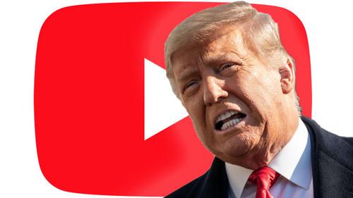 Youtube suspende la cuenta de Donald Trump