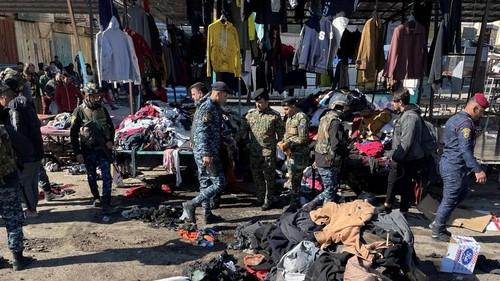 Doble ataque suicida en Bagdad: 28 muertos