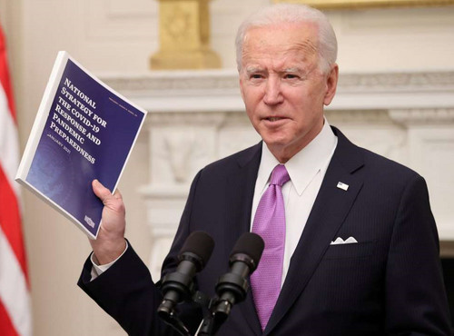 Joe Biden presentó la Estrategia Nacional Contra la Covid-19