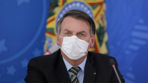 Jair Bolsonaro pone en duda la eficacia de las vacunas contra la Covid-19