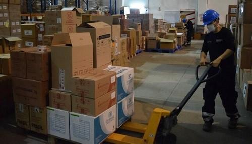 Más de 20 toneladas de suministros y equipos de protección enviados a Cusco y Lima provincias en lo que va del 2021