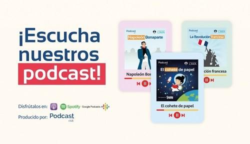 Aprende y diviértete con los podcasts educativos de la Municipalidad de Lima