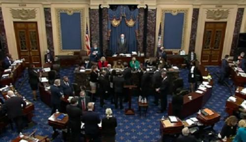 El veredicto del impeachment a Donald Trump es pospuesto a causa de la participación de testigos