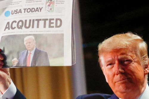 Senado absuelve a Donald Trump en segundo juicio político