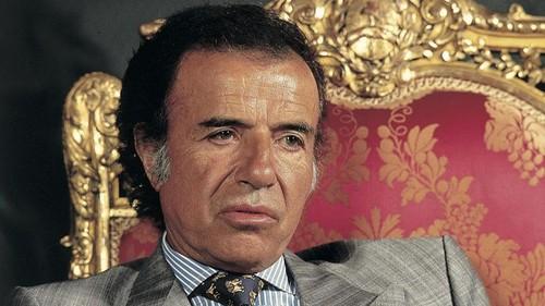 Murió el expresidente argentino Carlos Menen