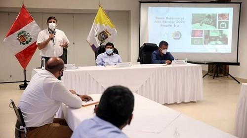 Ministro Cuenca: 'El gran objetivo impostergable es volver poco a poco a las clases'