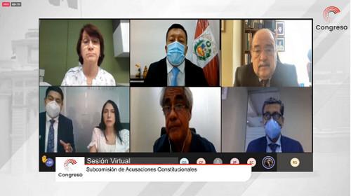 Continúa juicio político a expresidente Martín Vizcarra y exministras