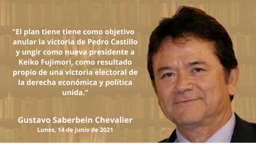 Develado plan fujimorista para desconocer la victoria de Pedro Castillo y llamar a nuevas elecciones