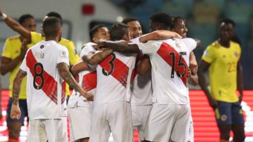 Perú vence a Colombia en la Copa América 2021: 2 - 1