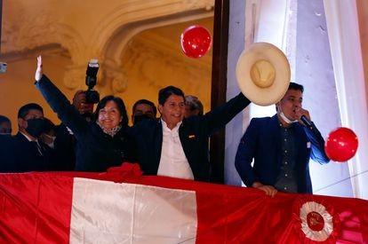 Presidente electo Pedro Castillo hace un llamado 'para sacar adelante al país'