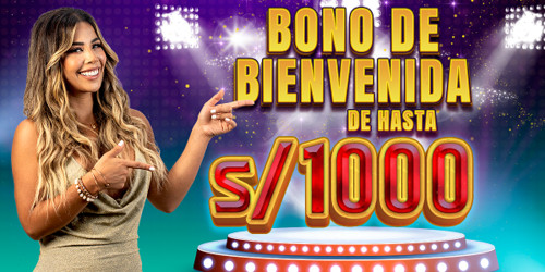 ¡Disfruta de un bono de bienvenida de hasta 1000 soles con Meridian Casino!