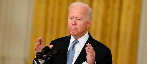 Joe Biden: Aún tenemos 70 millones de estadounidenses que no se han dado ni siquiera una dosis