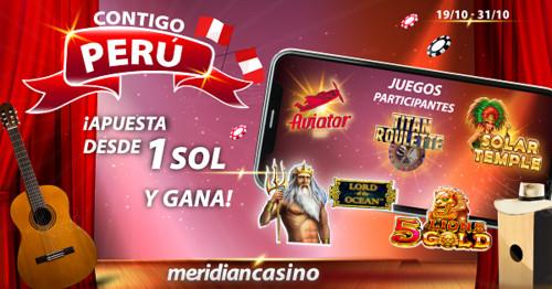 Contigo Perú: ¡Participa en este torneo de casino y sé uno de los ganadores!