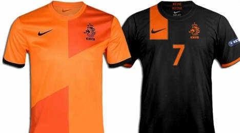 Selección de Holanda presenta nueva camiseta (Fotos)