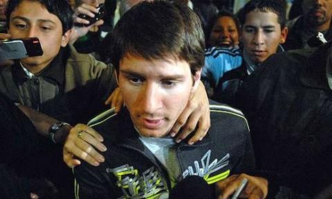 Lionel Messi envío un mensaje de apoyo a los familiares de las víctimas de Once
