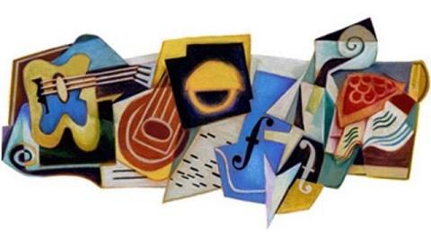 Google rinde homenaje con un doodle al artista español Juan Gris