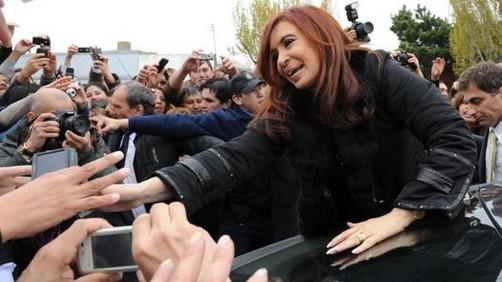 Argentina: Cristina gana elecciones con más de 50% de votos
