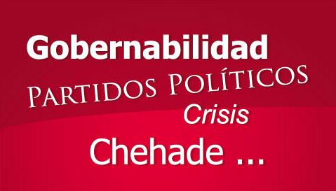 Daniel Parodi: La solución a la crisis fue la renuncia de Chehade a cambio de inmunidad parlamentaria