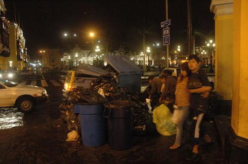 Personas que arrojen basura serán multadas