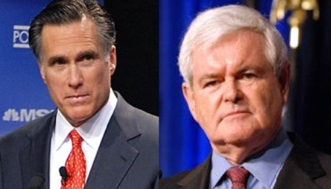 Gingrich y Romney: ¿Qué candidato cree que debe enfrentar a Obama en las elecciones presidenciales?