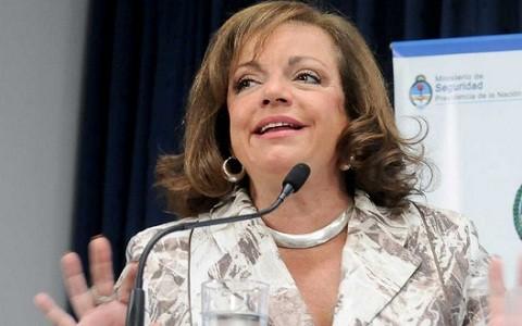 Ministra Garré: 'Cristina Fernández jamás permitirá violación de la libertad de expresión'