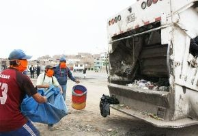 15 toneladas de basura son recogidas por la municipalidad de San Juan de Miraflores