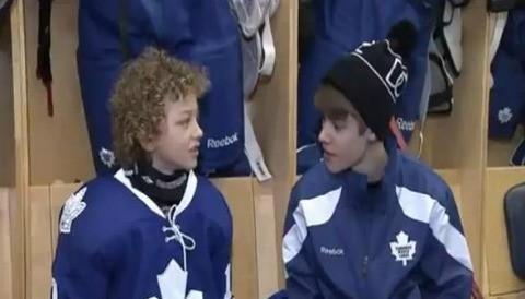 Justin Bieber cumple el sueño de un niño de 8 años de edad (video)