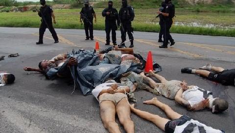 Enfrentamientos entre carteles del narcotráfico mexicano ha dejado 1.600 muertos en el 2011